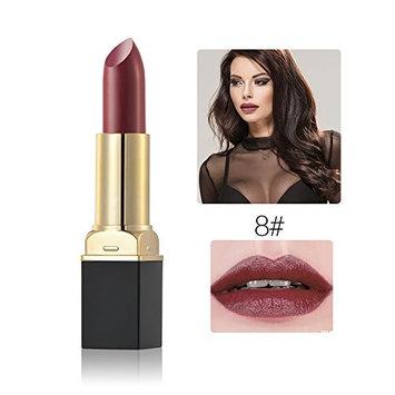 Makeup Cosmetic Moisturizing Velour Matte Waterproof Vintage Lipstick Blood Lip Gloss Glamorous Long Lasting Vampire Lip Stick for Women Girls