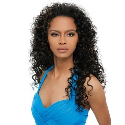 Outre Quick Weave Synthetic Halfwig - Amber - 1