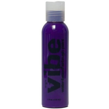 1oz Purple Vibe Face Paint Water Based Airbrush Makeup by European Body Art