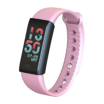 Indigi X6s Fitness Tracker Smart Bracelet with Dynamic Heart Rate Monitor & Pedometer Color LED Screen Health Smartwatch