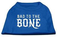 Ahi Bad to the Bone Dog Shirt Blue Med (12)