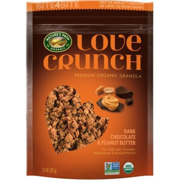Generic Nature's Path Organic Love Crunch Dark Chocolate & Peanut Butter Premium Organic Granola, 11.5 oz
