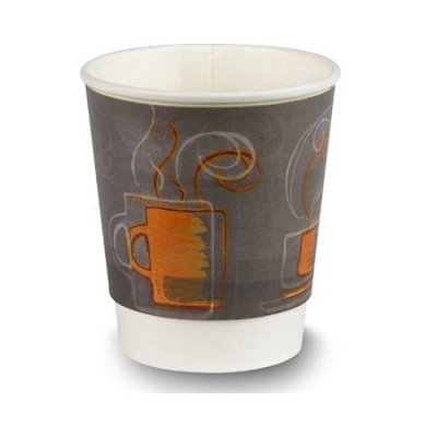 Dixie Foods Dixie Insulair Hot Cup - 8 fl oz - 500 / Carton - Hot Drink