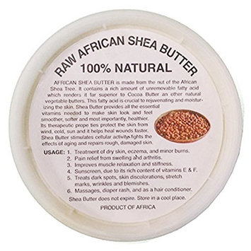 100% Natural African Shea Butter 8oz