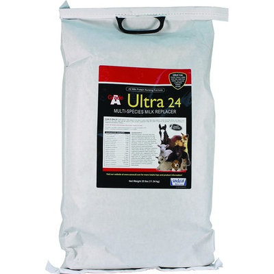 Milk Products Grade A Ultra Milk Replacer Multi-Purpose Nursing Formula 24% 25 lb