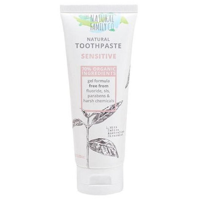 The Natural Family 232481 3.88 oz Rivermint Fluoride-Free Toothpaste Sensitive