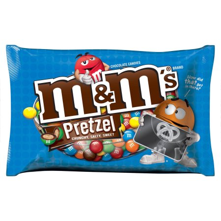 Mars M & M's Pretzel Chocolate 1.14 oz, 24/Box