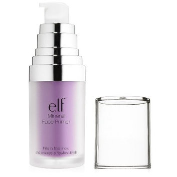 (3 Pack) e.l.f. Studio Mineral Infused Face Primer - Brightening Lavender : Beauty