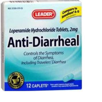 Leader Anti-diarrheal Caplets 12 Ct