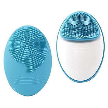 Beautyfrizz Sonic Silicone Facial Cleansing Brush, Exfoliation on the Pulse of Innovation, Waterproof