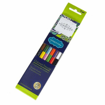 Firefly Imports Double Ended Colored Pencils, Multi-Color, 6-Count