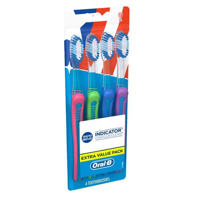 Oral-B Indicator Toothbrushes Soft 4.0 ea(pack of 2)