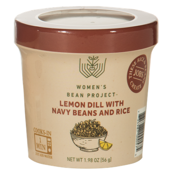 Women's Bean Project Ready-To-Eat Lemon Dill with Navy Beans and Rice Cup, 1.98 oz. cup