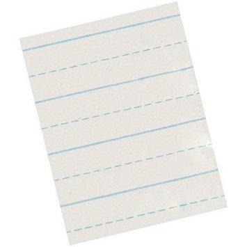 School Smart 8.5 x 11 Alternate Ruled - Short Width Primary Grade Paper