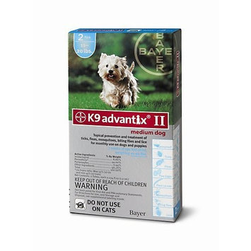 ADVANTIX II Dog Medium 2pk