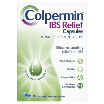 Colpermin Peppermint Oil Capsules 100 Capsules for Irritable Bowel Syndrome