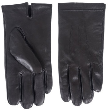 Klondike Canada Klondike Men's Touch Leather Glove with Plush Terry Lining