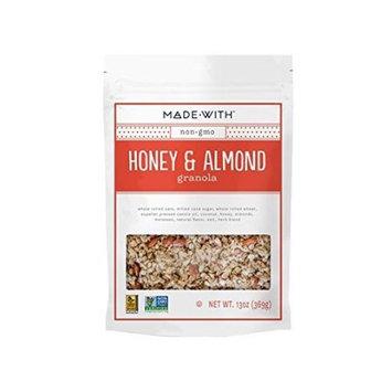 Made With Granola, Honey Almond, 13 Oz