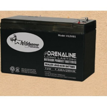 Wildgame Innovations 12 Volt eDRENALINE Rechargeable Tab Style Battery