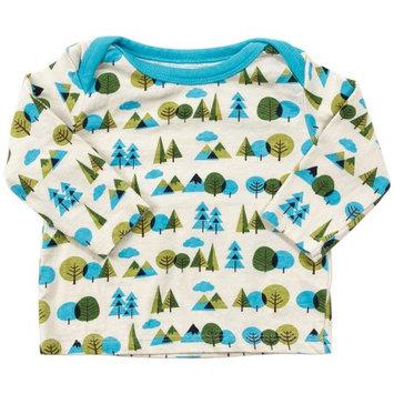Rockin Baby Llc Coyote & Co. Newborn Baby Boy Tree Print Top