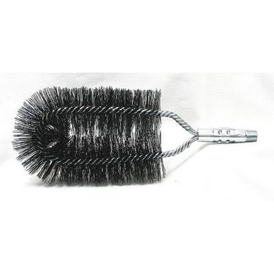 TOUGH GUY 3ECZ2 Boiler Brush, Dia 1 3/4 x 4,Length 9 1/2