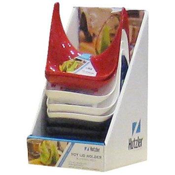 Hutzler 24-707 Pot Lid Stand & Spoon Rest Floor Display (24 pack)