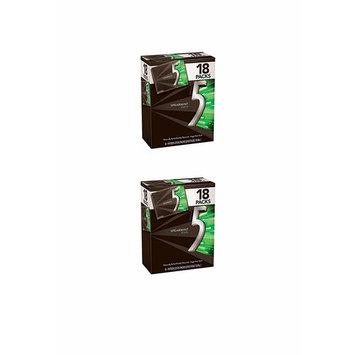 5 Gum Spearmint Rain Sugarfree Gum, Bulk 18 packs (2-(Pack))
