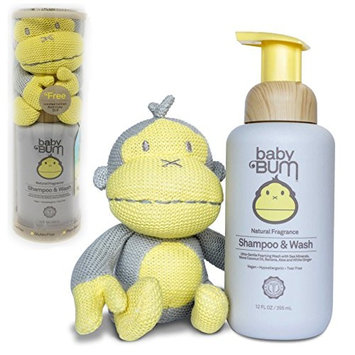 Baby Bum 12 fl. oz. Shampoo & Wash in Natural Fragrance - Free Limited Edition Knit Duke Doll