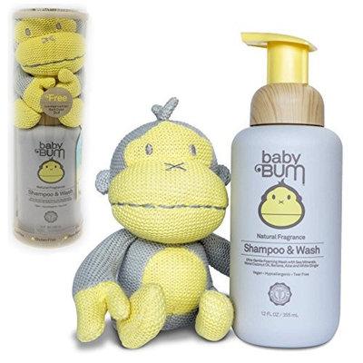 Baby Bum 12 fl. oz. Shampoo & Wash in Natural Fragrance - Free Limited Edition Knit Duke Doll