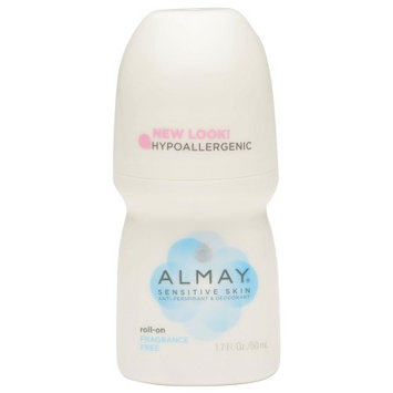 Almay Roll-On Antiperspirant & Deodorant Fragrance Free 1.7 oz.(pack of 6)