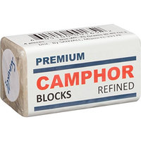 Camphor Block 4 Tablets Premium High Quality Refine Alcamphor Sanvall - No Residue - Bed Bug - Tool