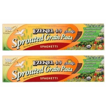 Food For Life Ezekiel 4:9 Sprouted Whole Grain Pasta Spaghetti - 16 oz (Pack of 2)