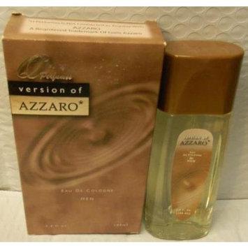 Q PERFUMES VERSION OF AZZARO MEN'S COLOGNE 3.4 OZ