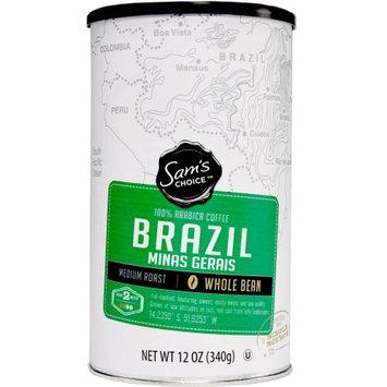 Ims International Marketing Sy Samâ s Choice Brazil Minas Gerais Whole Bean Coffee, Medium Roast, 12 oz