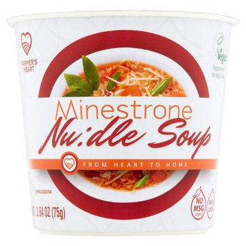 Nongshim America Inc Farmer's Heart Minestrone Nu: dle Soup, 2.64 oz
