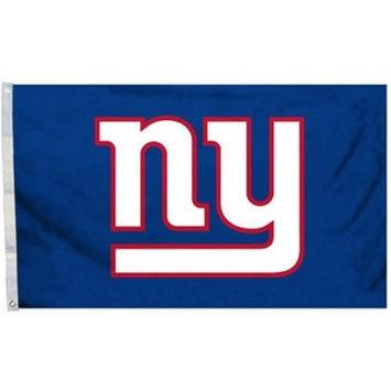 Fremont Die 94975B 3 Ft. X 5 Ft. Flag with Grommetts - New York Giants