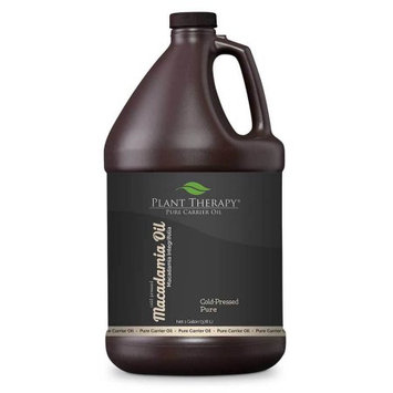 Plant Therapy Macadamia Nut Cold-Presses Pure Carrier Oil 1 gal.