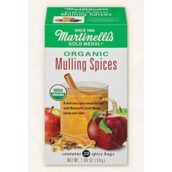 Martinelli's Organic Mulling Spices - 1.9 oz - 20 Count