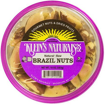 Klein's Natural Foods Brazil, Raw Shelled, 6 pk