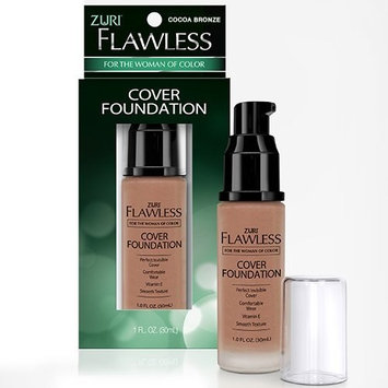 Zuri Flawless Cover Foundation - Cocoa Bronze