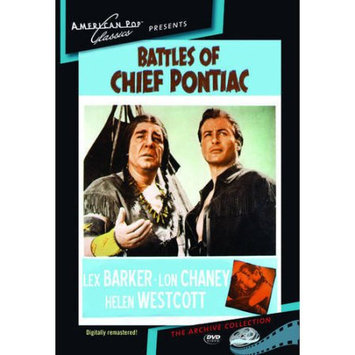 American Pop Classics/allied V Battles Of Chief Pontiac DVD (Black & White; Standard Screen; Soundtrack English