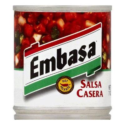 Hormel EMBASAasa Salsa, Casera, Hot, 7 Oz