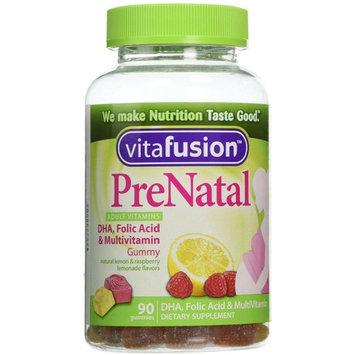 Vitafusion PreNatal Dietary Supplement, Lemon & Raspberry Lemonade Flavors 90 ea