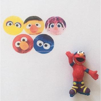 100 pcs. Round Cartoon Childrens Band Aid, Latex Free, Adhesive Bandages Kids Bandaids Bulk and Sesame Street PVC Figure (1- Random) Bundle Plus a Bonus Free Collection of Fun Kids Jokes by Zee
