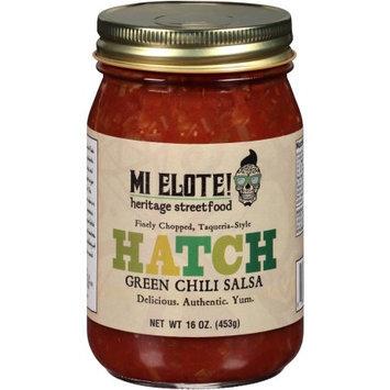 Mi Elote 268949 Hatch Chili Salsa - 8 oz.