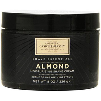 Caswell-Massey Shave Cream Jar, Almond, 8 Ounce