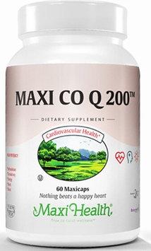 Maxi Health Maxi Co Q 200 mg. Coenzyme Q-10 - 60 Maxicaps