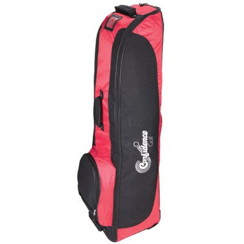 Confidence Golf Bag Travel Cover RED with wheels