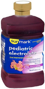 Sunmark Pediatric Electrolyte Liquid Grape Flavored Strength Liquid 33.8 oz Case of 6