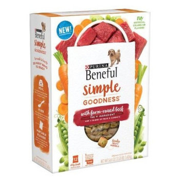Beneful Simple Goodness Beef Dry Dog Food - 12ct